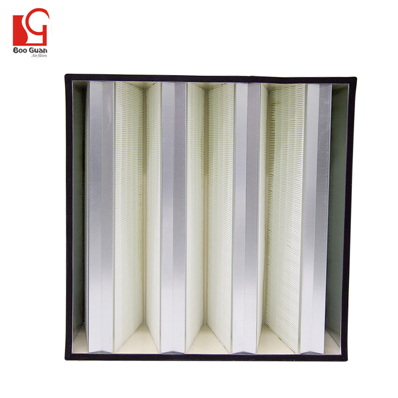 High Efficiency Air Filter-Mini Pleat V Type BMV303