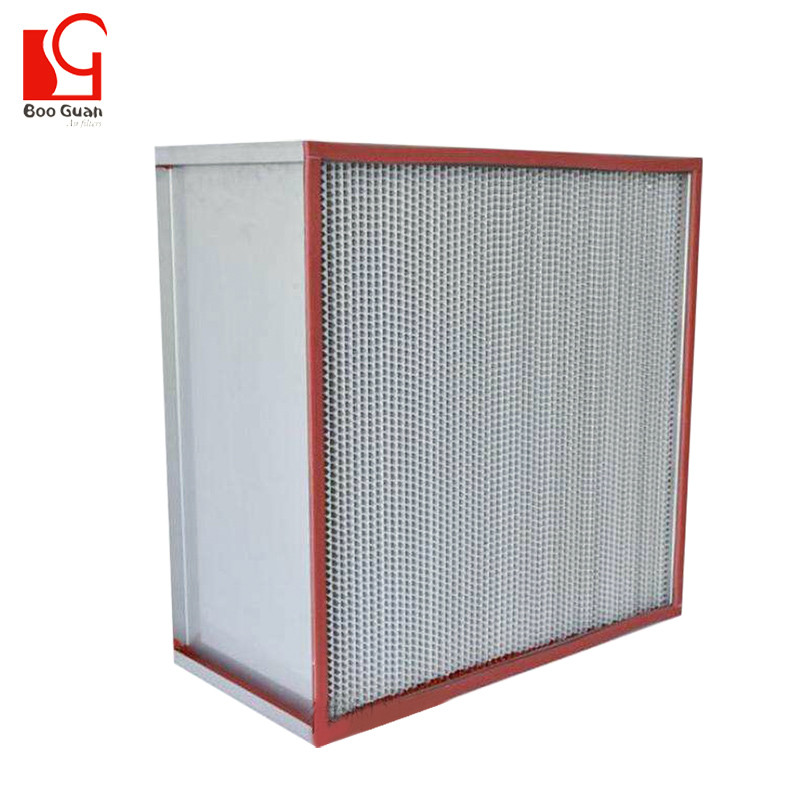 High Efficiency Air Filter-Deep Pleat Type BTR312