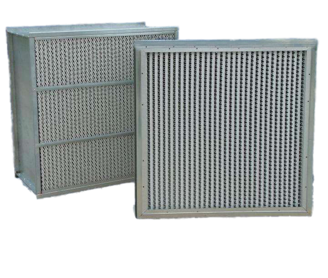 BTH301 High Efficiency Air Filter-Deep Pleat Type